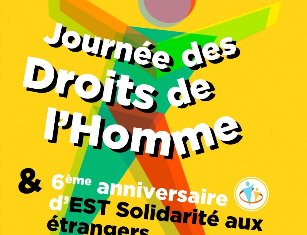 Venez tous fêter les droits de l'Homme avec Est Solidarité !